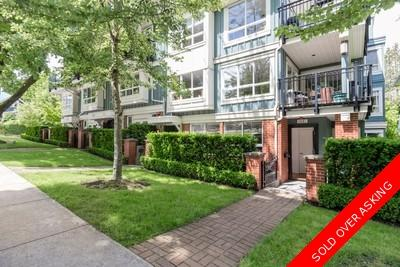 Kitsilano Townhouse for sale: 2 Bedrooms+Den 1,225 sq.ft. Twenty on the PA