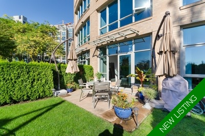 Yaletown Condo for sale: Governor's Tower 2 Bedrooms+Den 1,200 sq.ft.