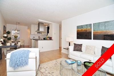 Lower Lonsdale View Condo for sale: Dorset Manor 1 bedroom