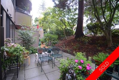 Patio lovers! 1 bedroom False Creek Condo for sale. Pre-paid Leashold